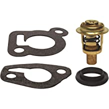 GLM Thermostat Kit for OMC Sterndrive 2.5L /& 3.0L 1980-1988 160/° Replaces 982554 3853799 18-3670 Read Item Description for Applications