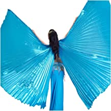 Egyptian Egypt Belly Dance Costume Bifurcate Isis Wings no stick 10 Colors