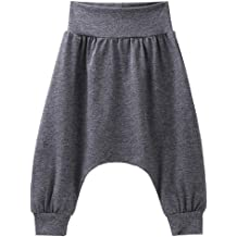 OnlyAngel Kids Boys Camo Hip-Hop Pants Elastic Waist Drop-Crotch Harem Pants Age 3-8 Years