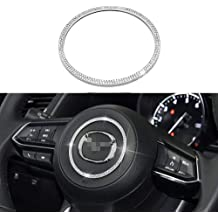 MAXMILO Steering Wheel Bling Crystal Shiny Diamond Accessory Interior Sticker for Mazda cx-4 cx5