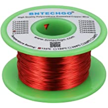 4 oz 20 ft 200/°C Magnetic Coil Winding TEMCo 14 AWG Copper Magnet Wire