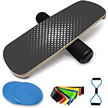 """Balance Exercise /& Rehab Fitness Yogree 15.4/"""" Wooden Balance Board for Workout"""
