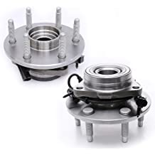 FITS 4WD // AWD // 4x4 MODELS ONLY 00-09 Mazda B4000 5 Lugs W//ABS Set of 2 FKG 515003 01-05 Ford Explorer Sport Trac Front Wheel Bearing Hub Assembly for 95-01 Ford Explorer 01-09 Ford Ranger