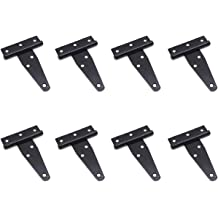 3 Open Width 1//8 Pin Diameter Pack of 1 Aluminum 5052 Continuous Hinge without Holes 1 Long 1//2 Knuckle Length 0.06 Leaf Thickness Unfinished
