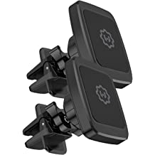 Samsung Galaxy and more WixGear Car Phone Mount Air Vent Cell Phone Holder for Car Google Pixel 3 XL Air Vent Phone Holder for Car with Double Prongs Base Compatible with iPhone Xs//XS Max // 8//7 // 6