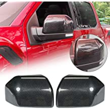 Everrich Red Carbon Fiber Keyless Engine Push Start Stop Button Cover Trim Decoration For Chevrolet Chevy Camaro C7