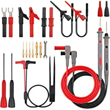 P1503D Multifunctional Electrical Multimeter Test Leads Kit with Crocodile Clips Replaceable Probe Tips Set