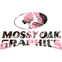 Mossy Oak Graphics 13003-S 3 x 7 Full Color Mossy Oak Logo Decal