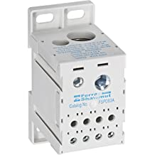1 Pole 0-30 Ampere Mersen US3J1I Amp-Trap 2000 SmartSpot Class J Recommended Fuse Block with Box Connector