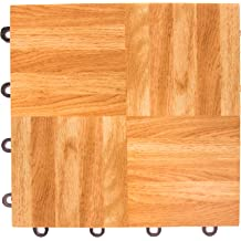 IncStores Deluxe Tap /& Dance Board Flooring Tiles 3x3 Square 9 Tile Set with Edge Pieces Real Wood Surface Light Wood