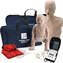 cc19ef45f1 Adult and Infant CPR Manikin with Feedback Prestan AED UltraTrainer, and  MCR Accessories