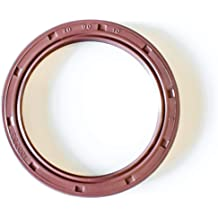 EAI VITON Oil Seal 17mm X 29mm X 5mm TC Double Lip w//Stainless Steel Spring Metal Case w//Viton Rubber Coating