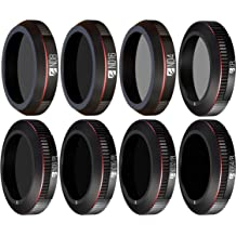ND16 CPL ND32//PL Camera Lens Filters Set 6Pack ND4 ND8 Freewell Budget Kit E-Series ND64//PL Compatible with Parrot Anafi Drone