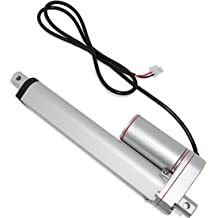 Solar Usage Linear Actuator |IP68M//IP69K Protection for Industrial 12V Waterproof 450 lbs. // 12 in. Brushed DC Electric Motor and Stainless-Steel Stroke Rod Model PA-10-12-450-N-12VDC