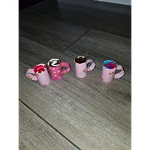 18 Doll Coffee Mug Drinks Colorful Polkadots fits American girl my life our generation