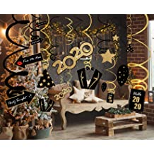 LUCKKYY 30 Count Solar System Hanging Swirls,Plante Party Hanging Decorations,Dangling Whirls Home Classroom Decorations for Space Themed Birthday Party