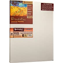 Masterpiece Artist Canvas VC-3549 Vincent Pro 7//8 Deep 3X Cotton 10.3oz 35 x 49 Carmel Portrait Smooth